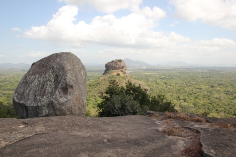 Sigiriya desde Pidurangala