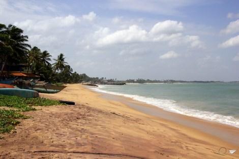 Las playas de Tangalle, en el sur de Sri Lanka