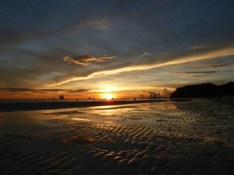 Puesta de sol Boracay