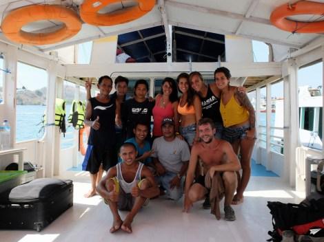 Barco Komodo Flores