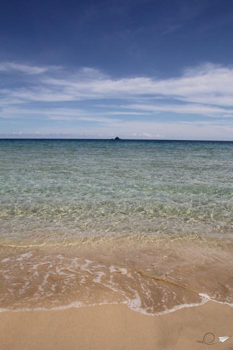 Agua playa de Nagtabon